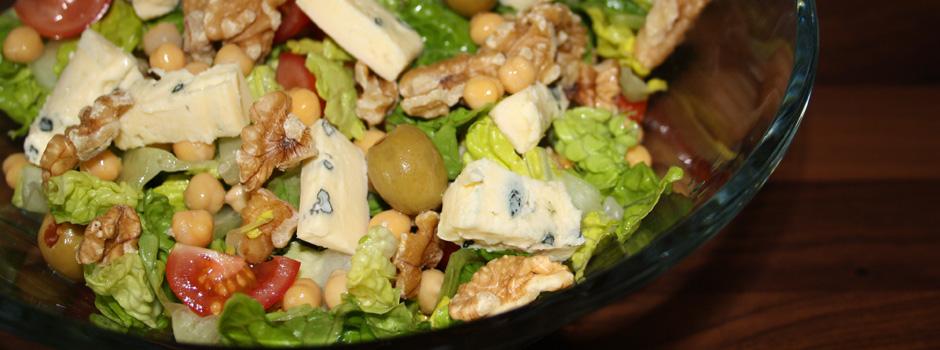 Frisk salat!