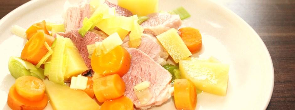 Saltkjøtt og grønnsaker