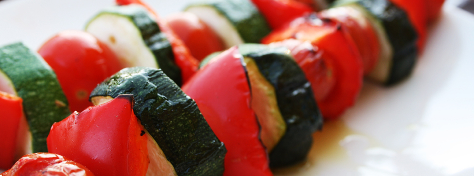 Grillede grønnsaker